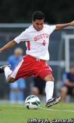 Men's Soccer Claims 3-0 Victory over Adelphi