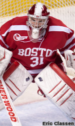 Maguire Named Hockey East Co-Rookie of the Week