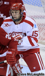 No. 17 Terriers Fall to No. 8 Boston College, 5-1
