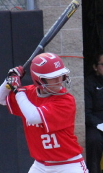 Softball Records Split in Doubleheader at Binghamton Saturday Afternoon
