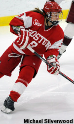 Terriers Edged in Overtime by No. 6 Harvard, 3-2, in Beanpot Consolation