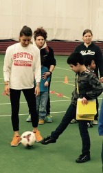 BU Student-Athletes Host Fourth-Annual Olympic Day For Autistic Children