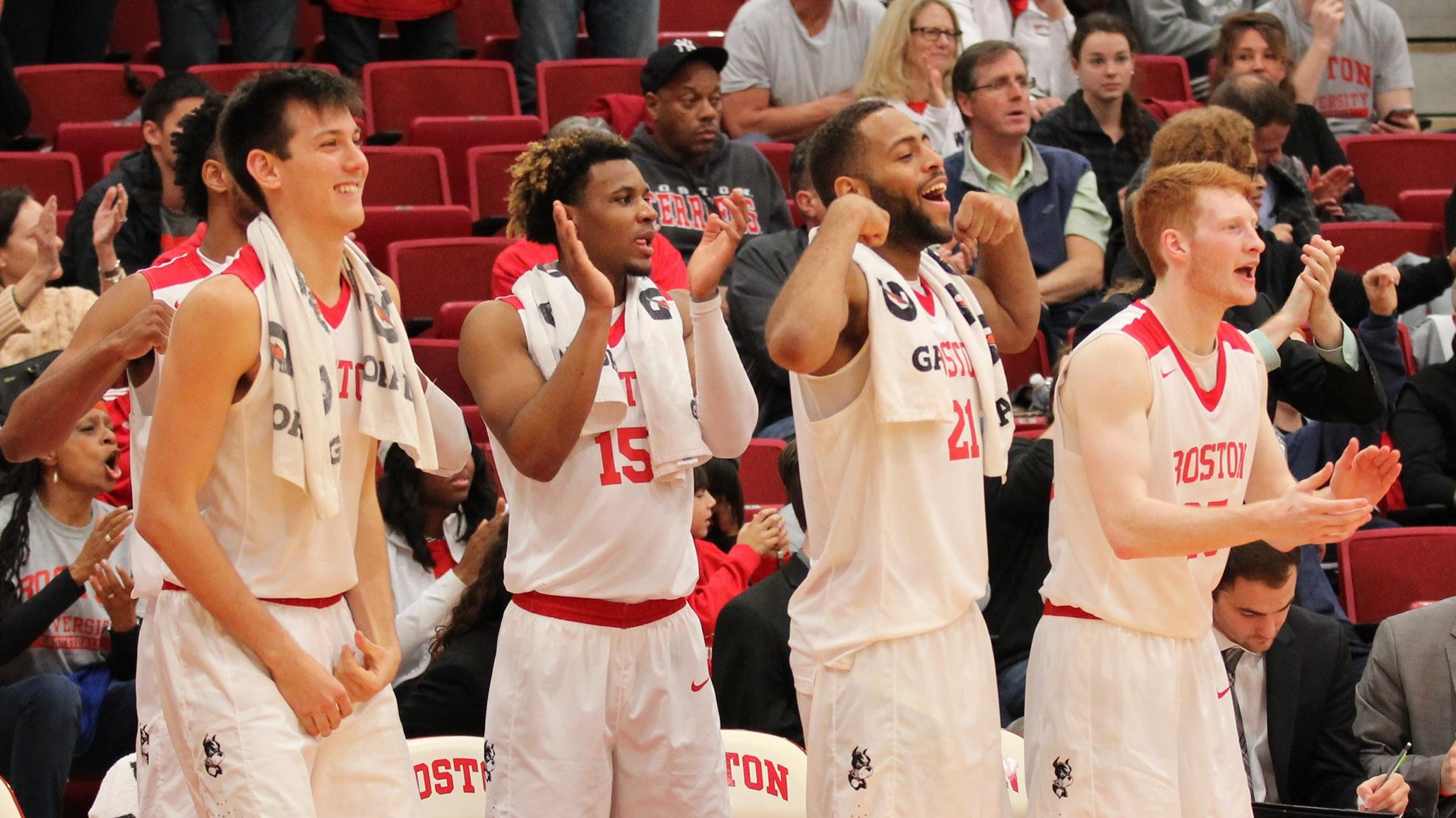 Terriers Cruise Past Maine, 102-78, on Day Two of Steve Wright Classic