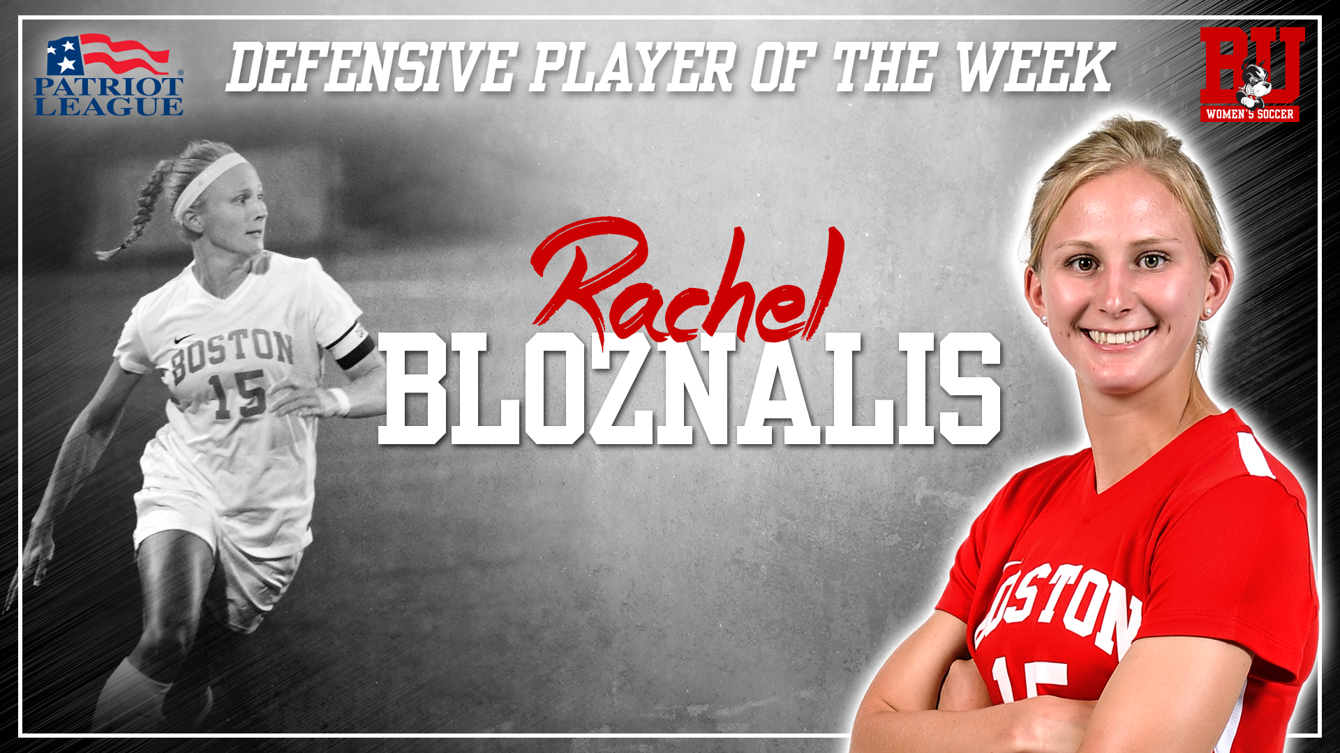 Bloznalis Tabbed PL Defensive Player of the Week