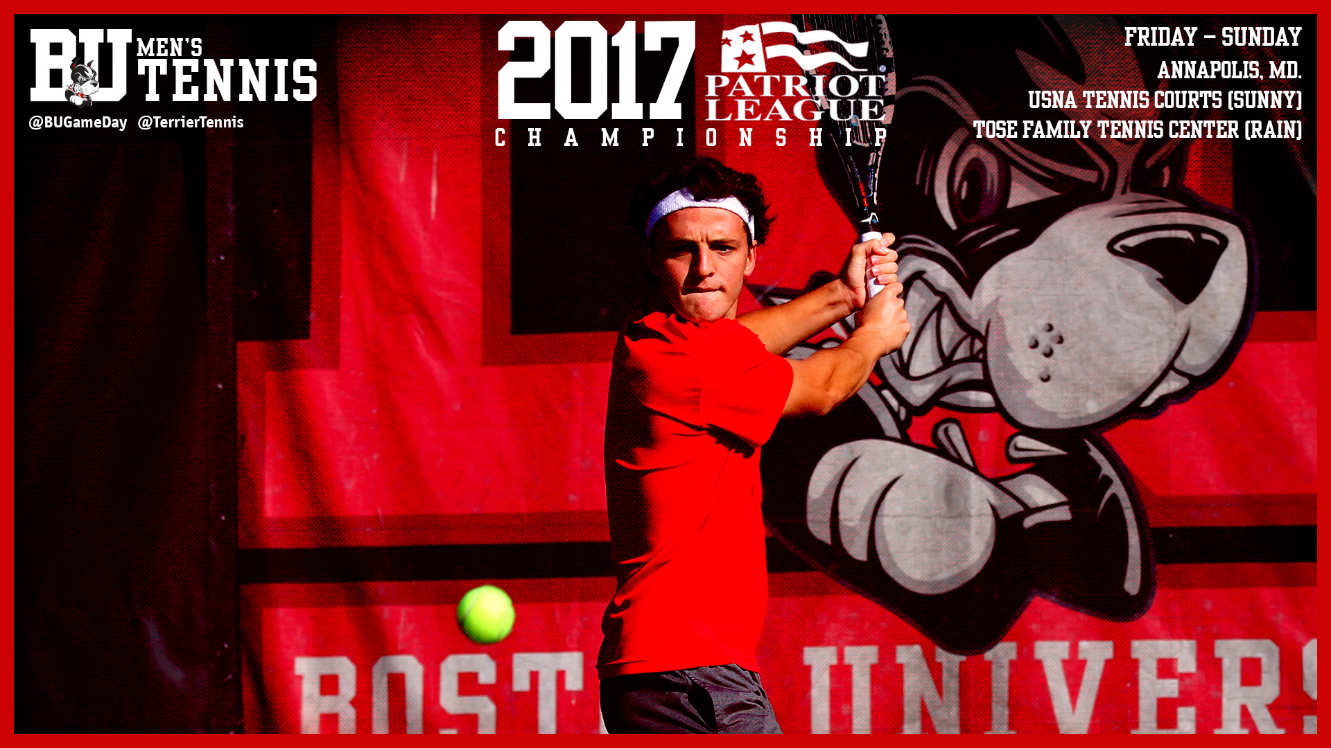 No. 4 Men's Tennis to Open PL Tourney with No. 5 Colgate Friday Morning