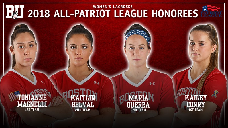 Four Terriers Earn All-Patriot League Honors - Boston