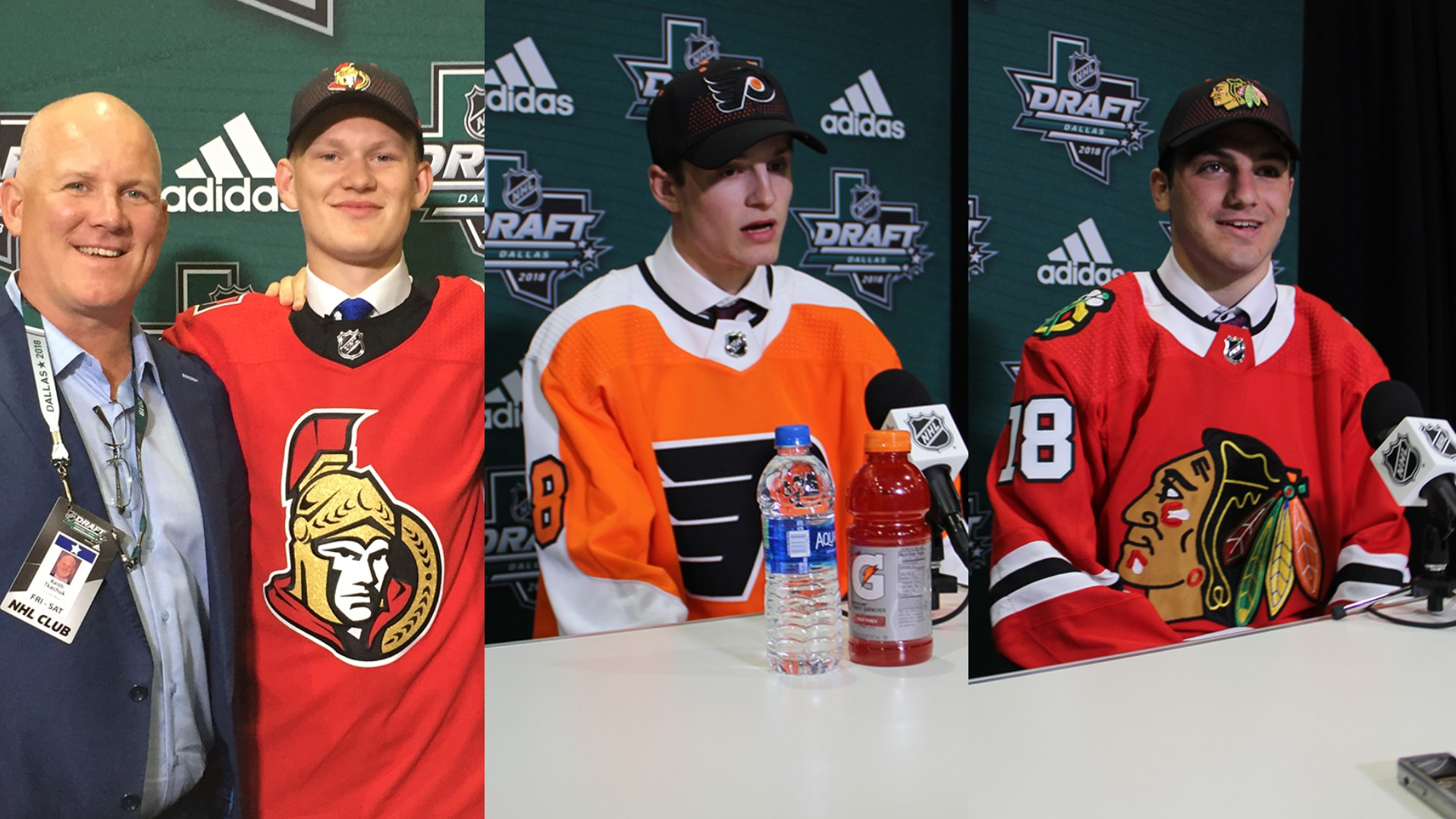 852b9ae8deb Three Terriers Selected at 2018 NHL Draft - Boston University Athletics
