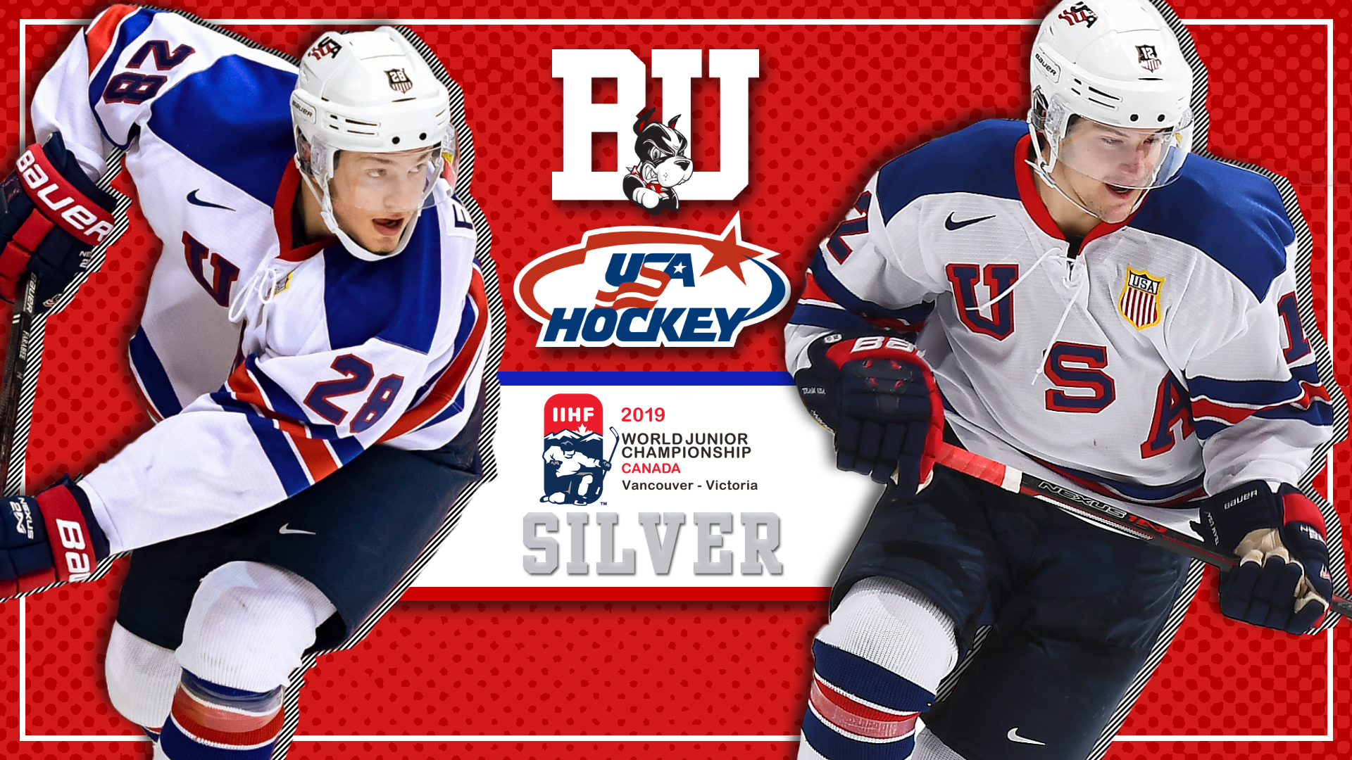 Farabee Cockerill Earn Silver Medals With Team Usa At World Juniors
