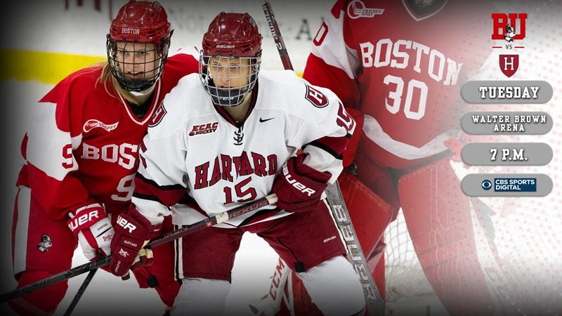 Terriers to Host No. 9 Harvard Tuesday Night