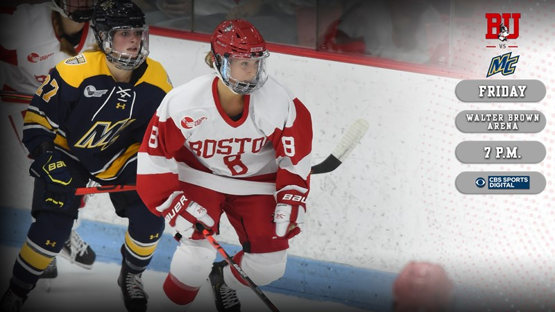 No. 7/8 Terriers to Begin Home-and-Home Series with Merrimack Friday Night